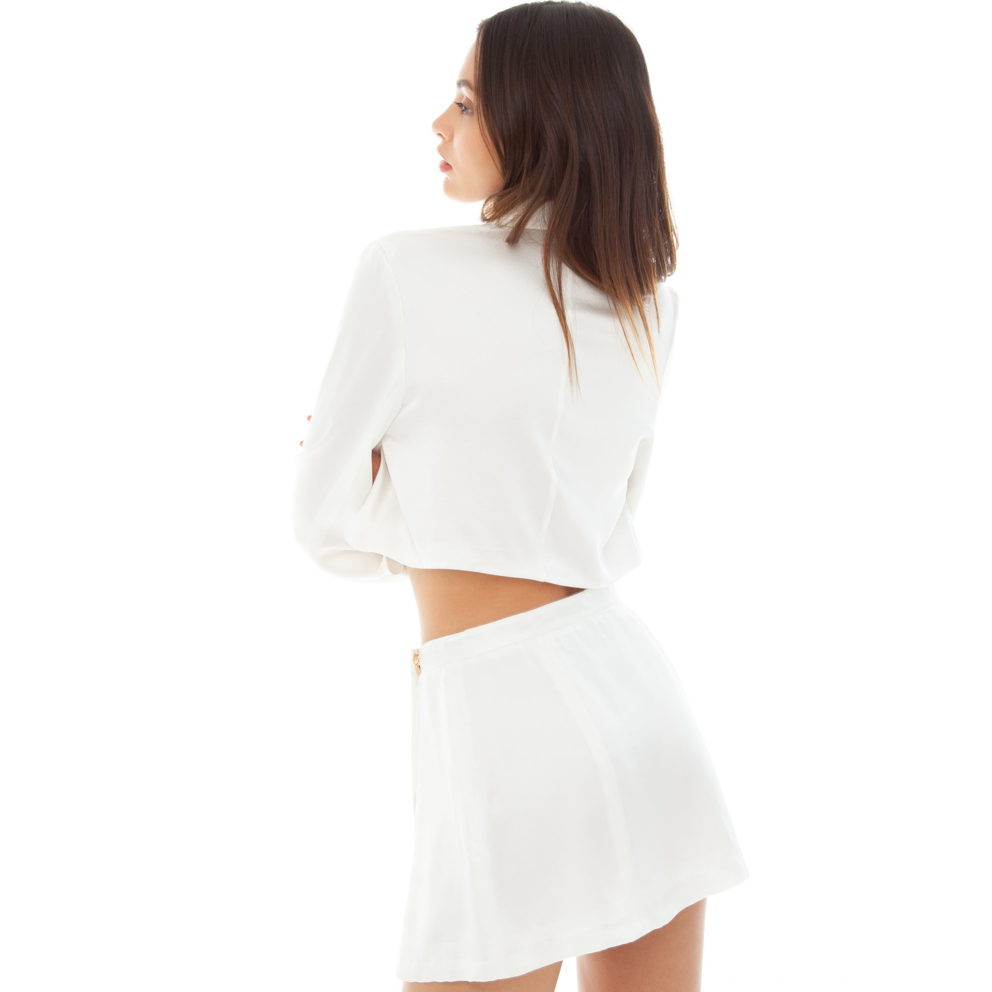Are You Am I - Natane Skirt **white