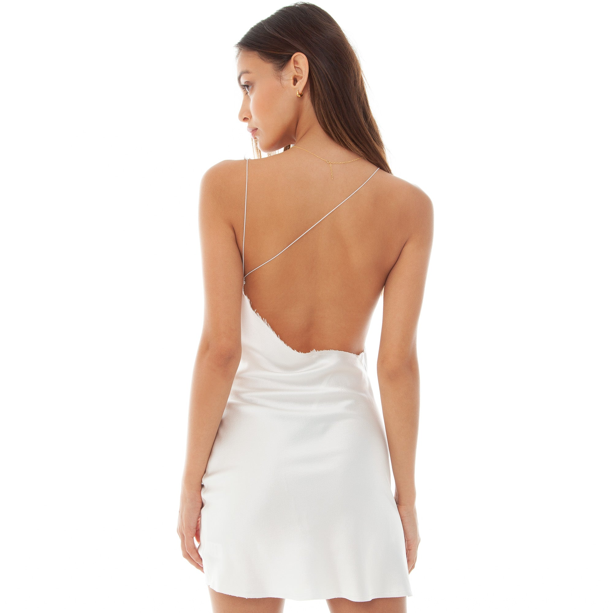 Are You Am I - Ninfa Dress **white