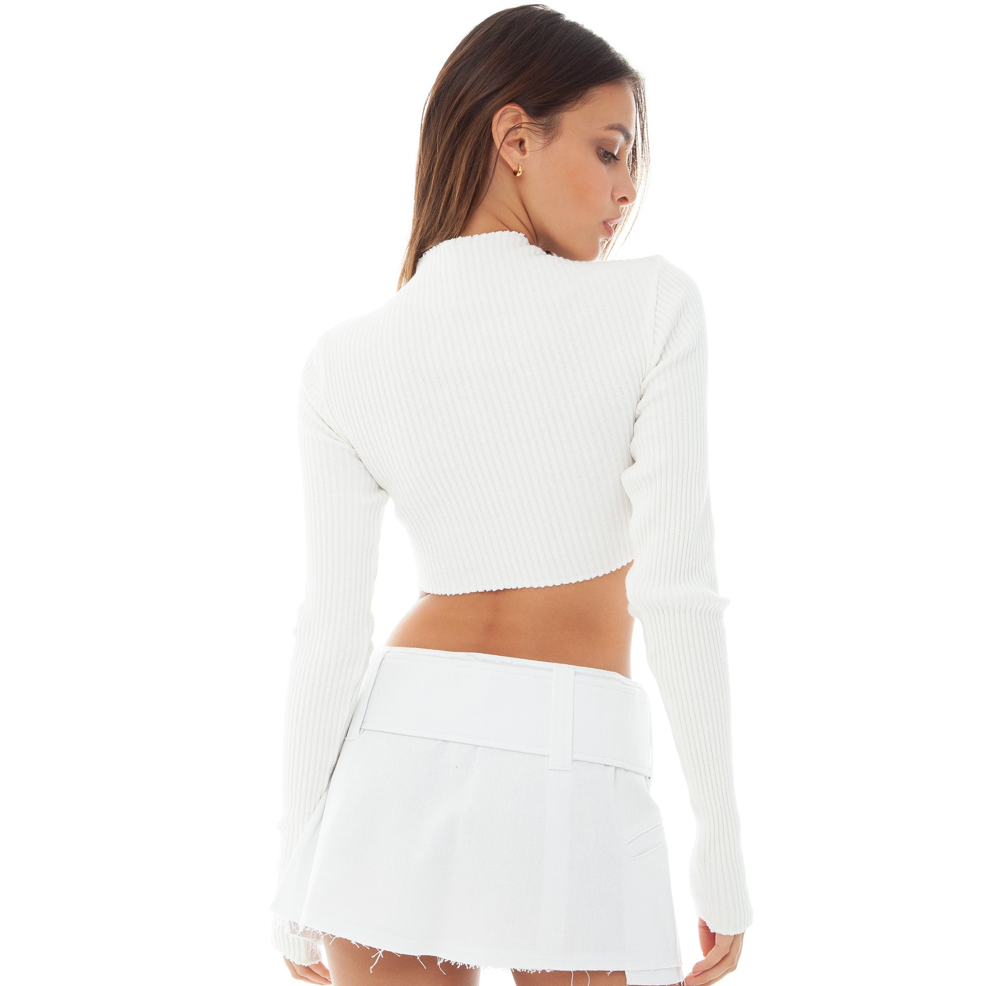 Are You Am I - Nour Top **white