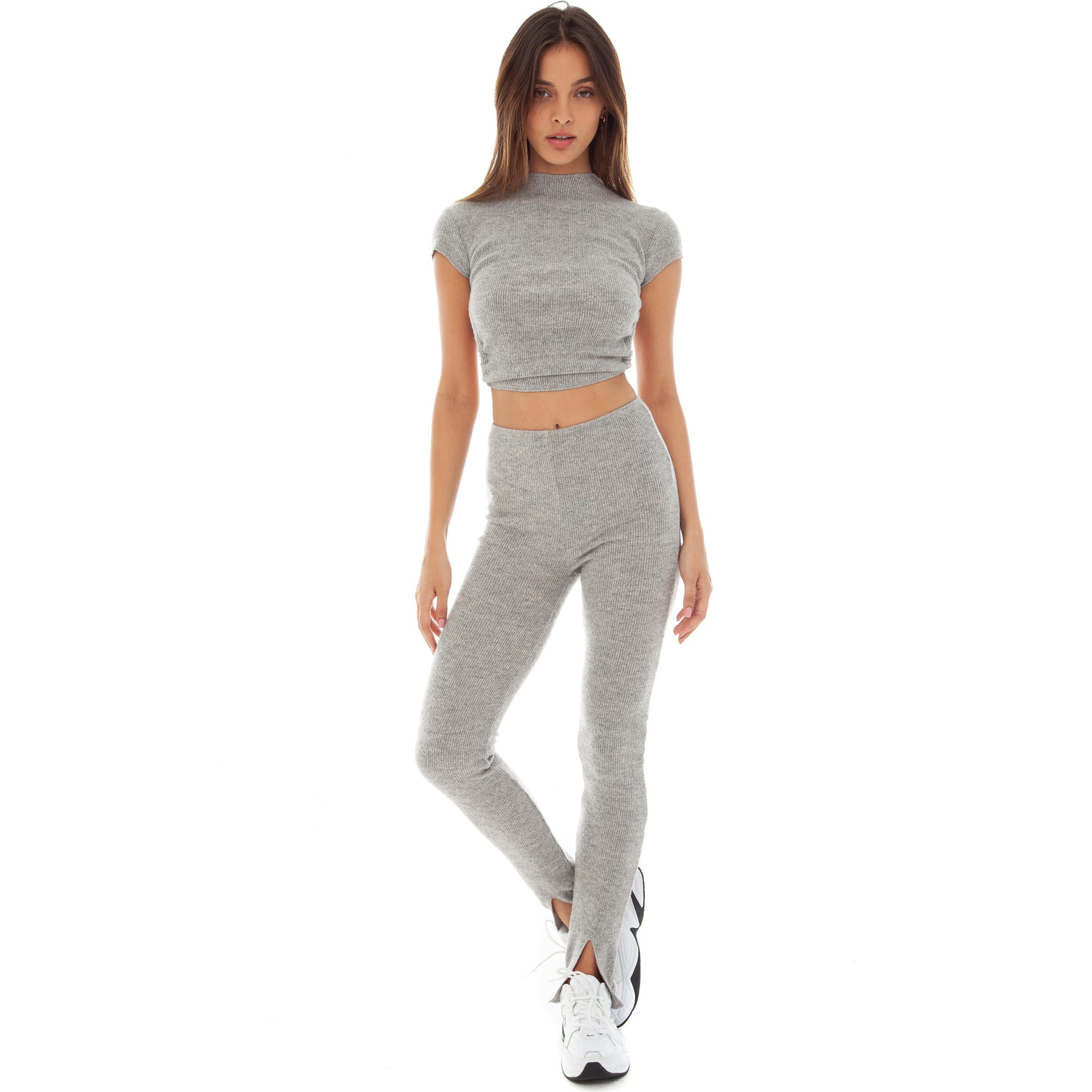 Are You Am I - Sarei Sweater **heather-grey