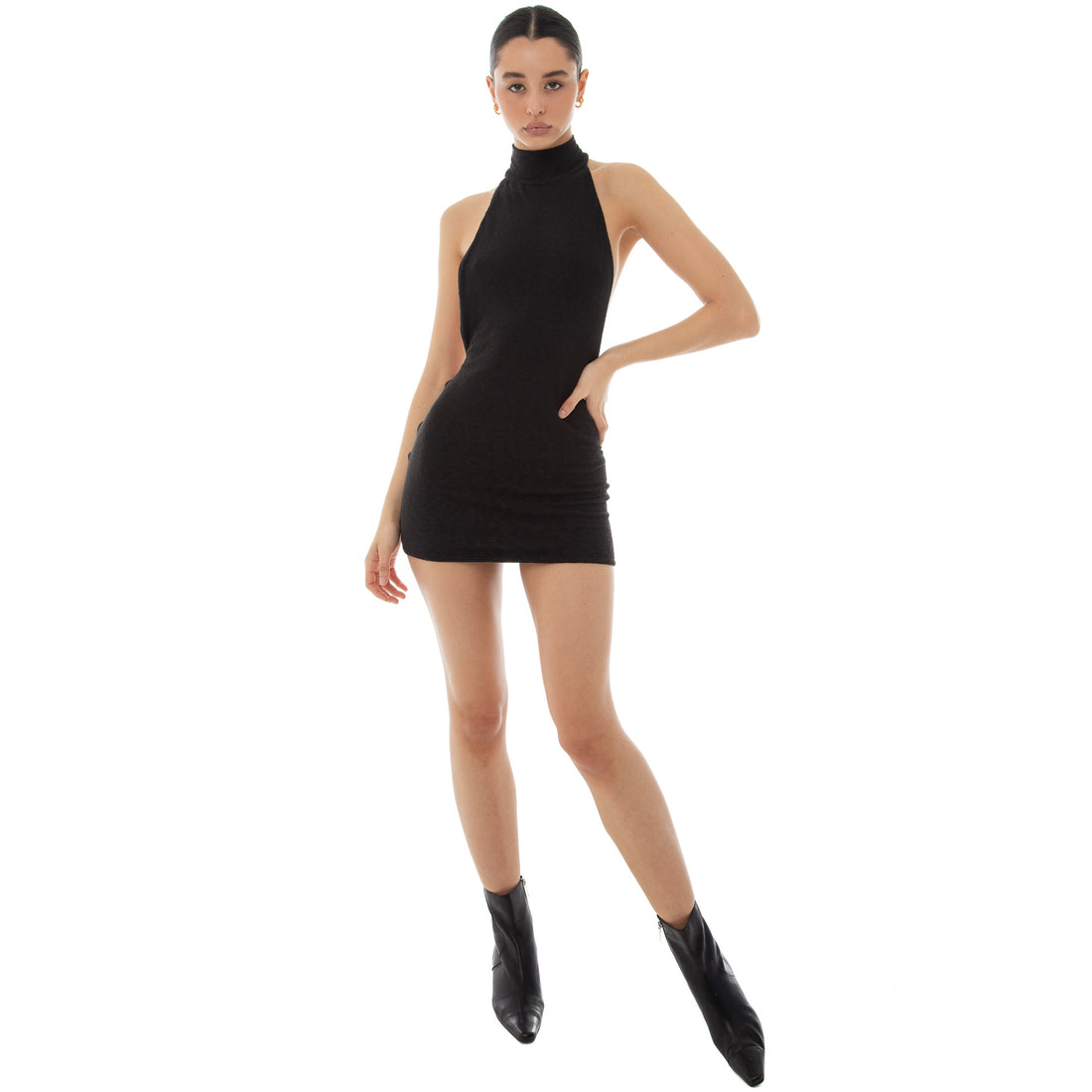 Are You Am I - Deci Dress **black
