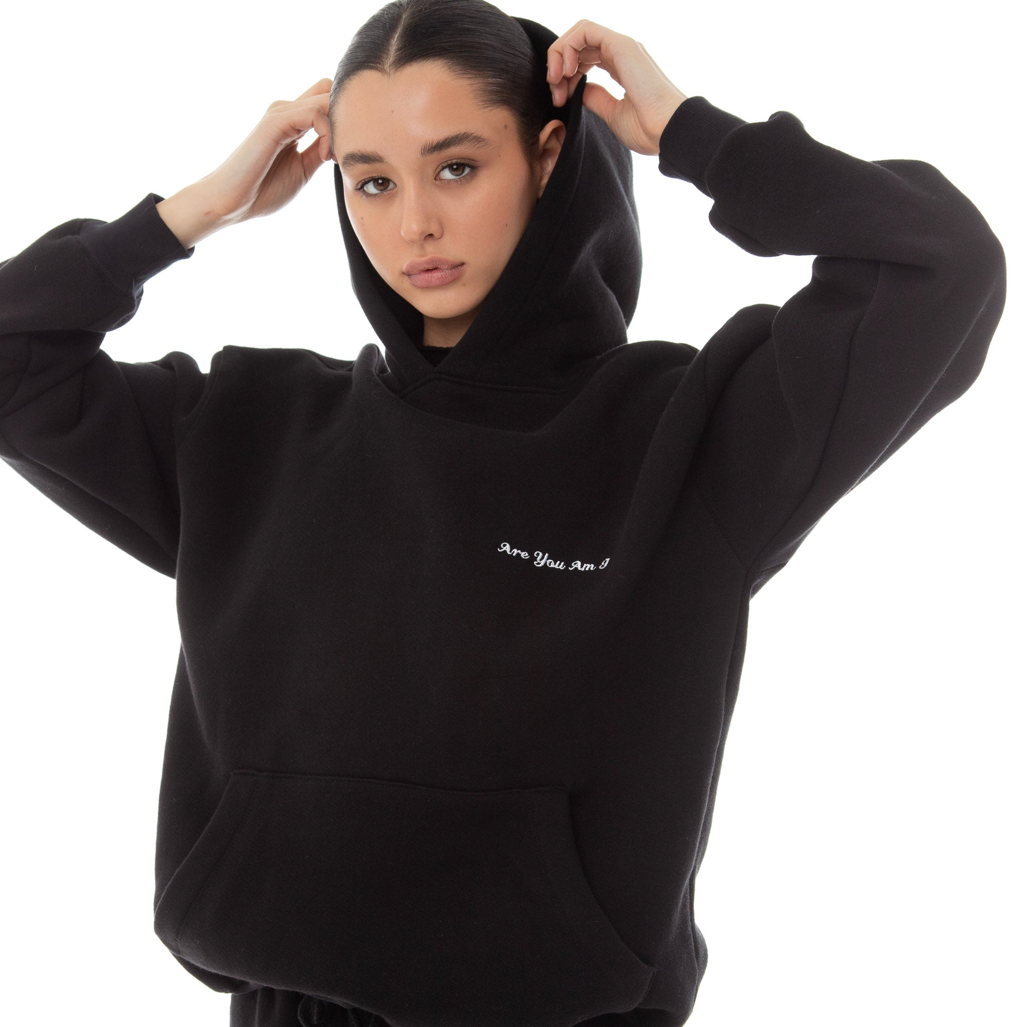 Are You Am I - Dewe Hoodie **black