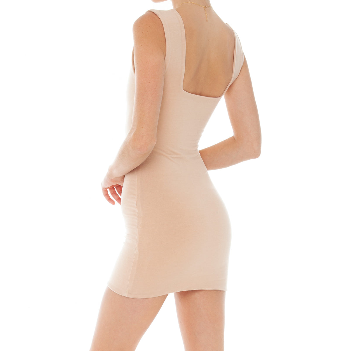 Are You Am I - Kimba Dress **nude