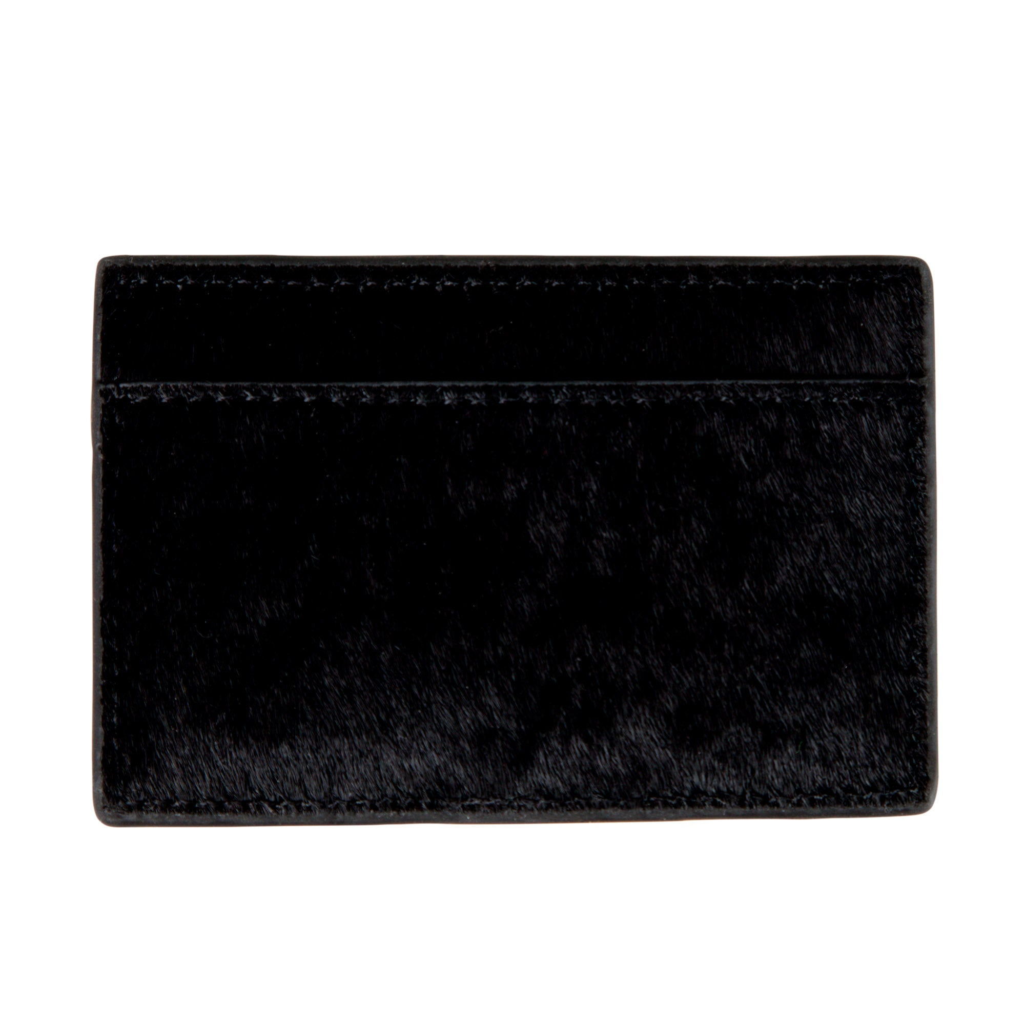 Are You Am I - Nadie Card Case **black-cowhide