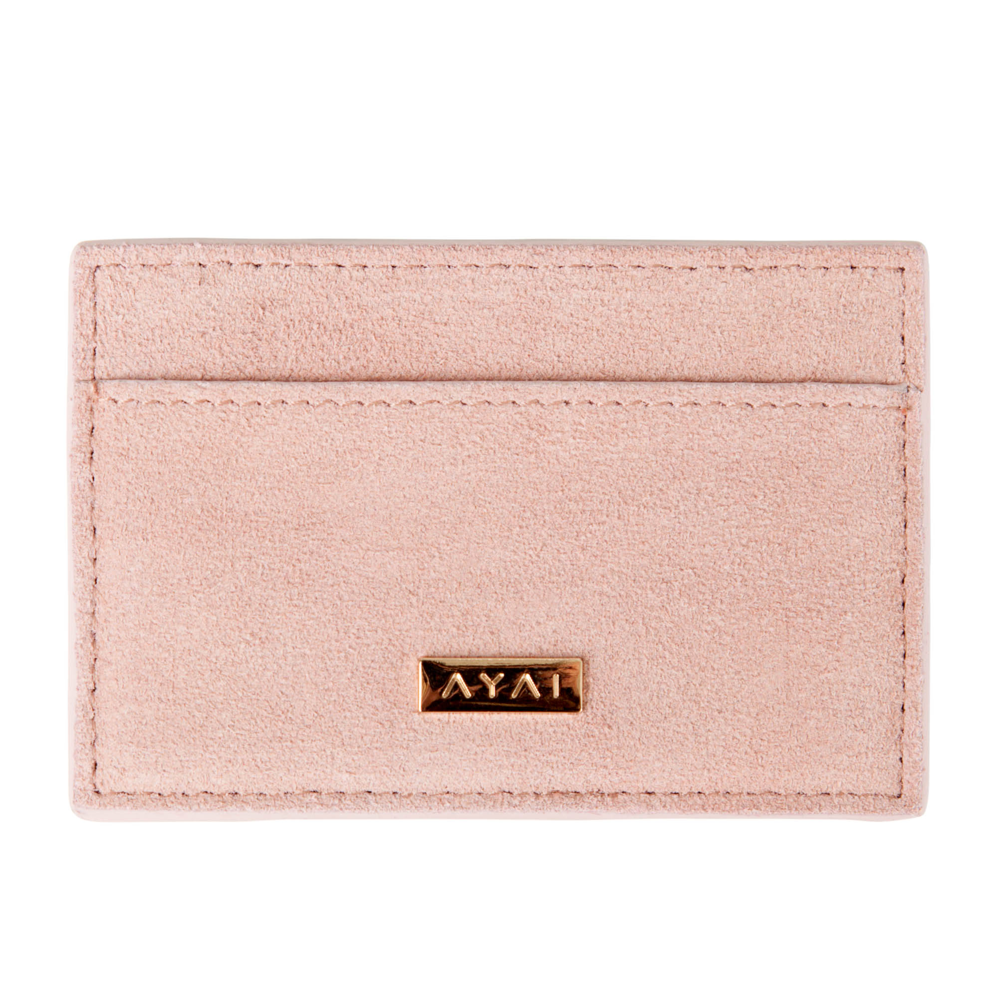 Are You Am I - Nadie Card Case **blush-suede