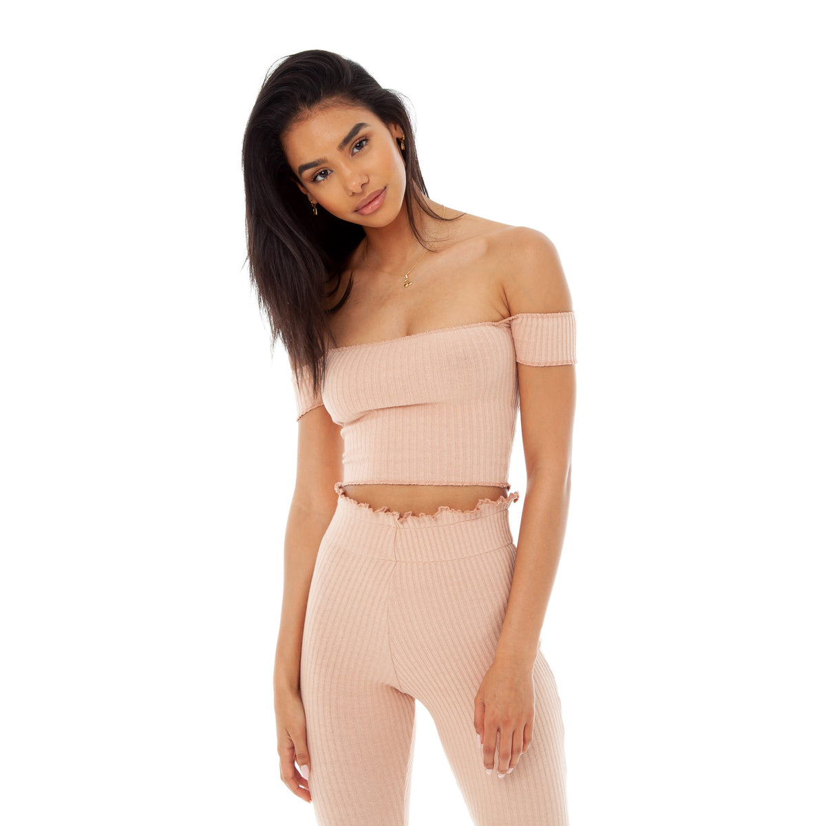 Are You Am I - Minka Top **nude