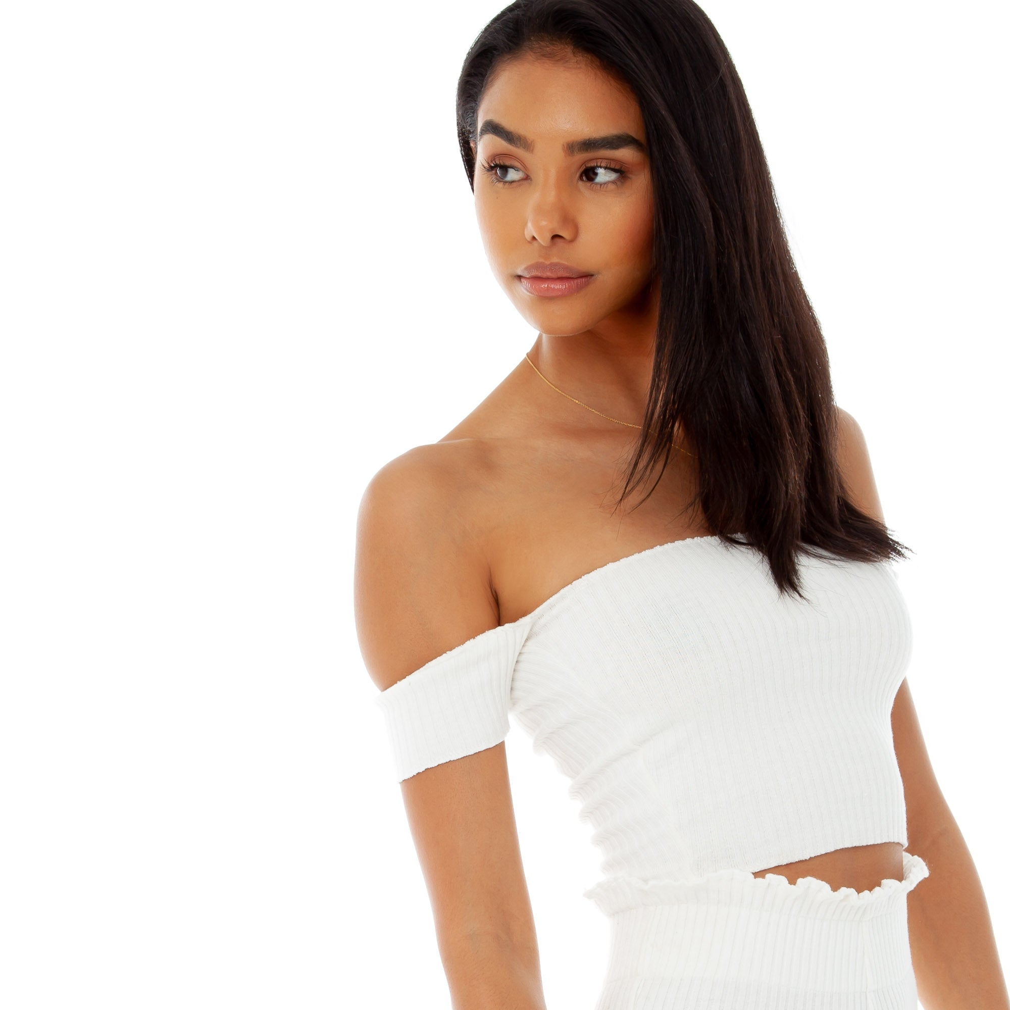 Are You Am I - Minka Top **white