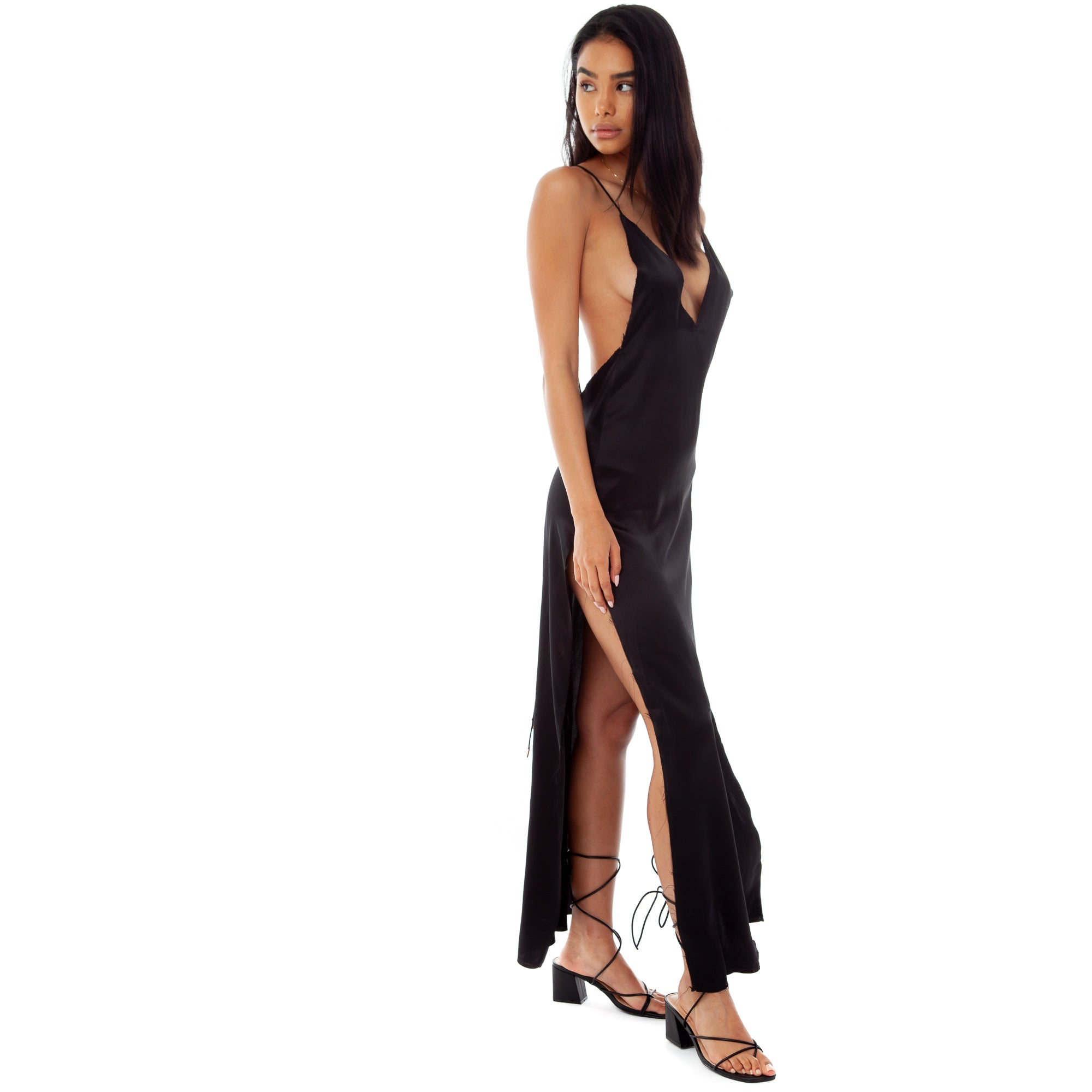 Are You Am I - Nyissa Dress **black