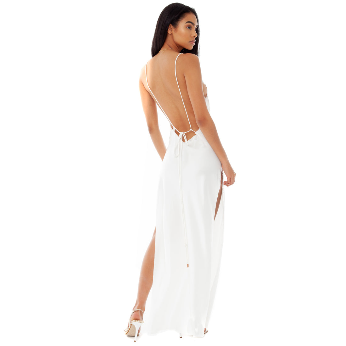 Are You Am I - Nyissa Dress **white