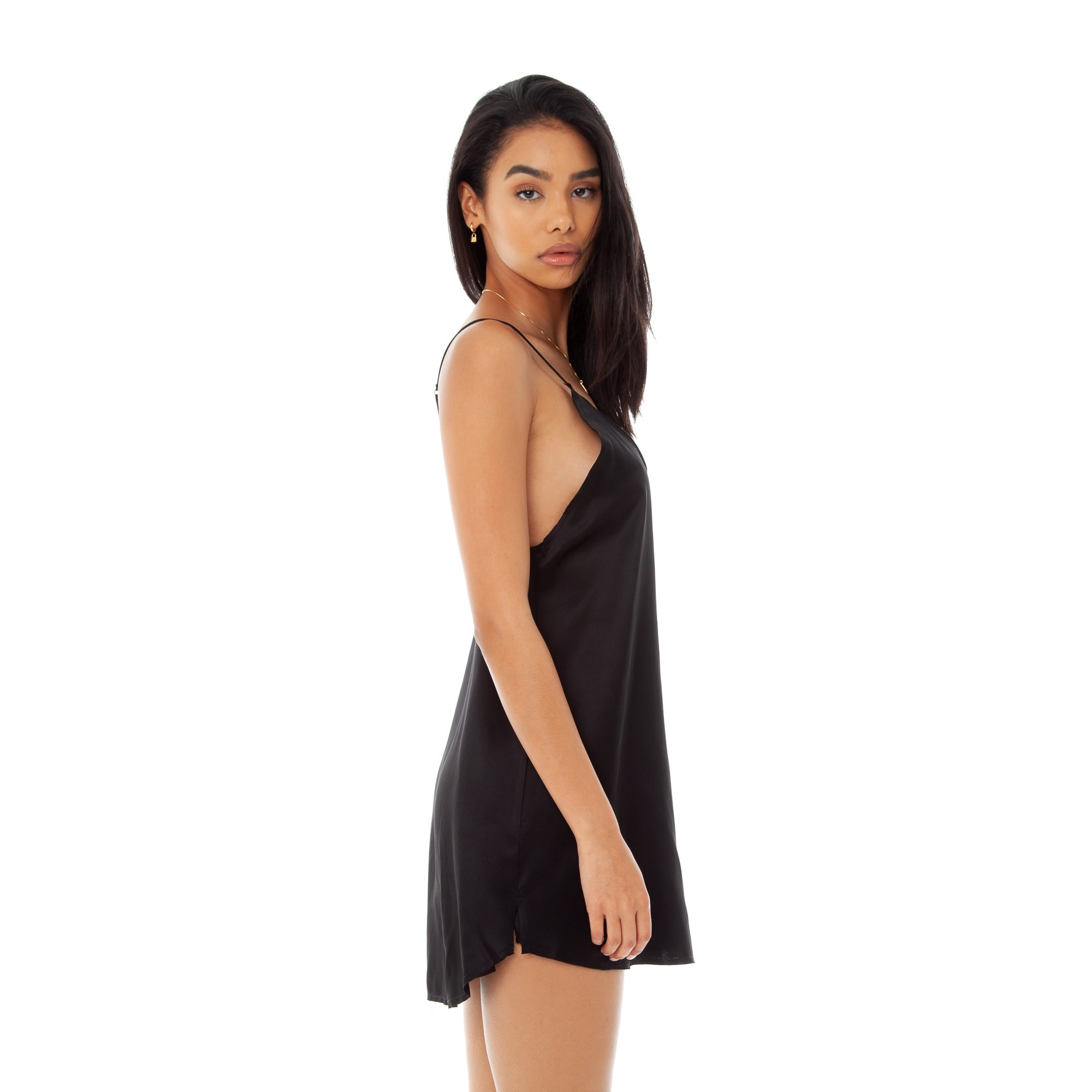 Are You Am I - Zillah Slip Dress **black