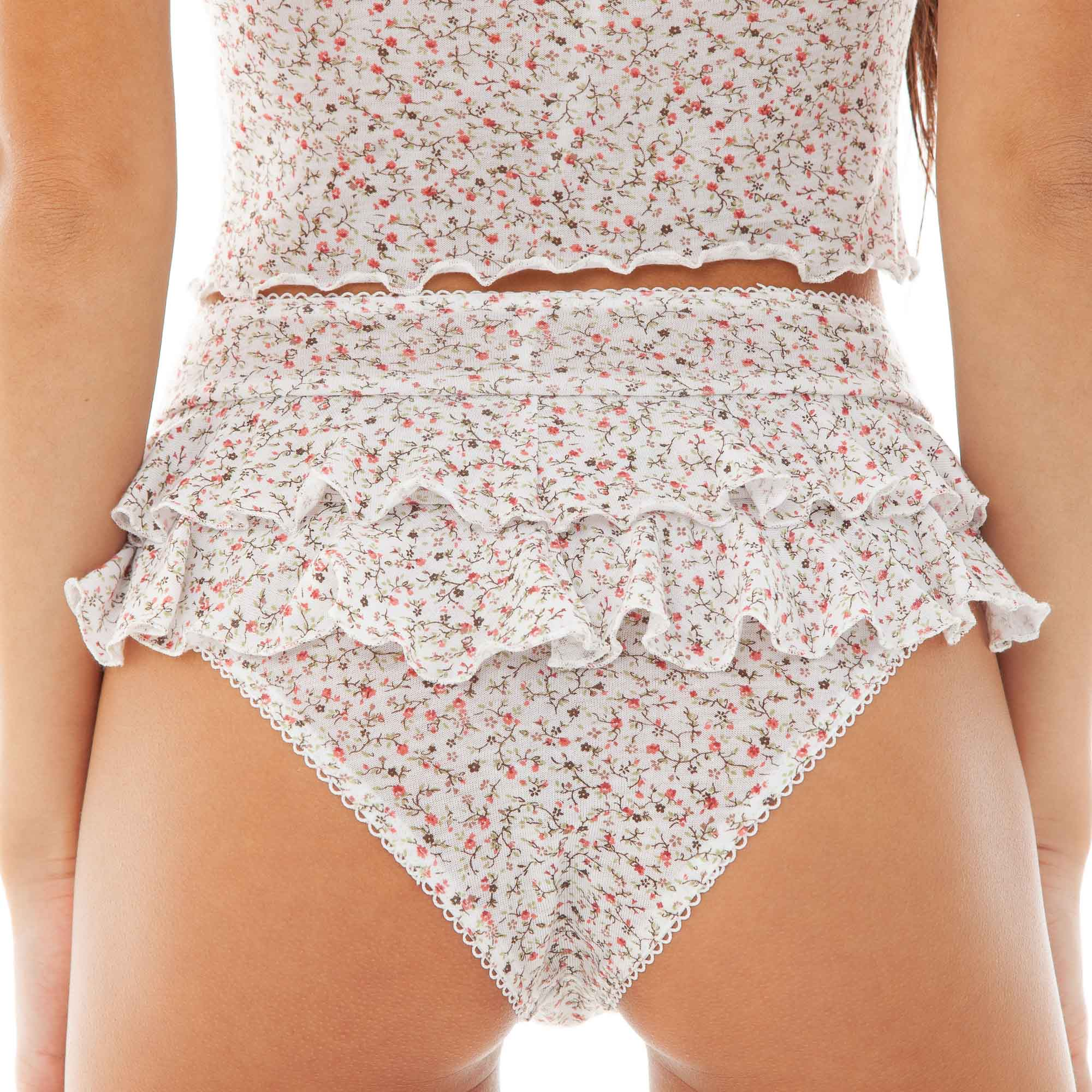 Are You Am I - Lux Floral Boyshort