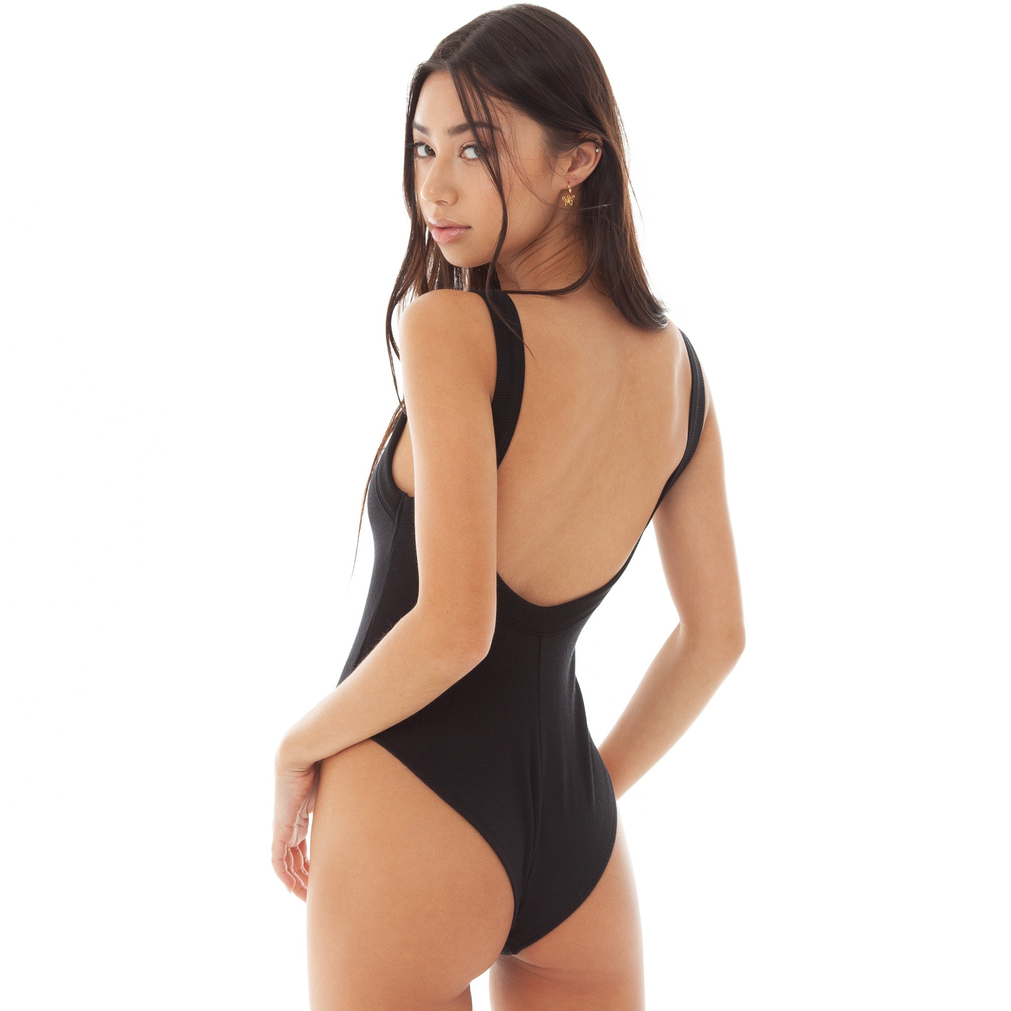 Are You Am I - Resi Bodysuit **black