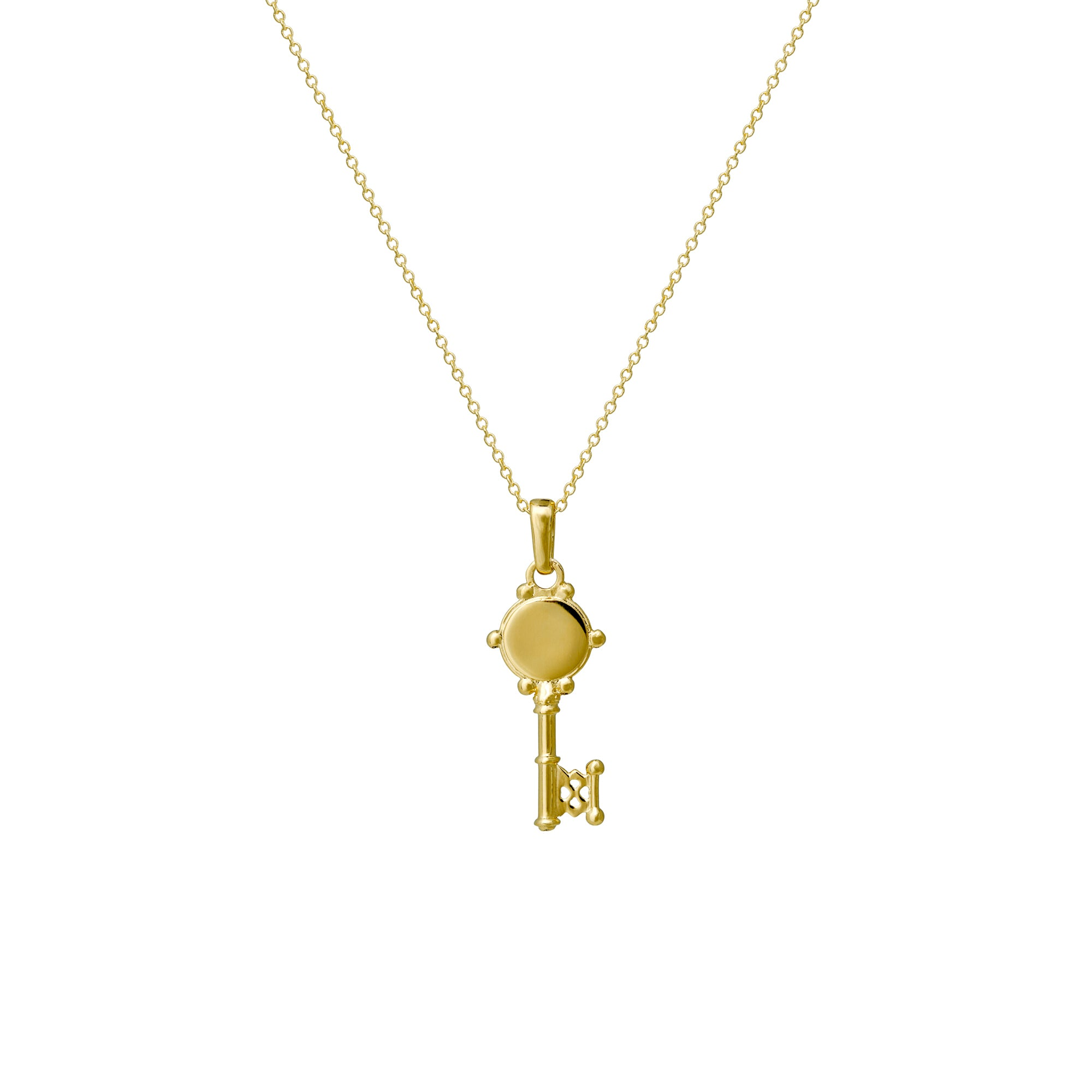 Are You Am I - Nyck Key Necklace
