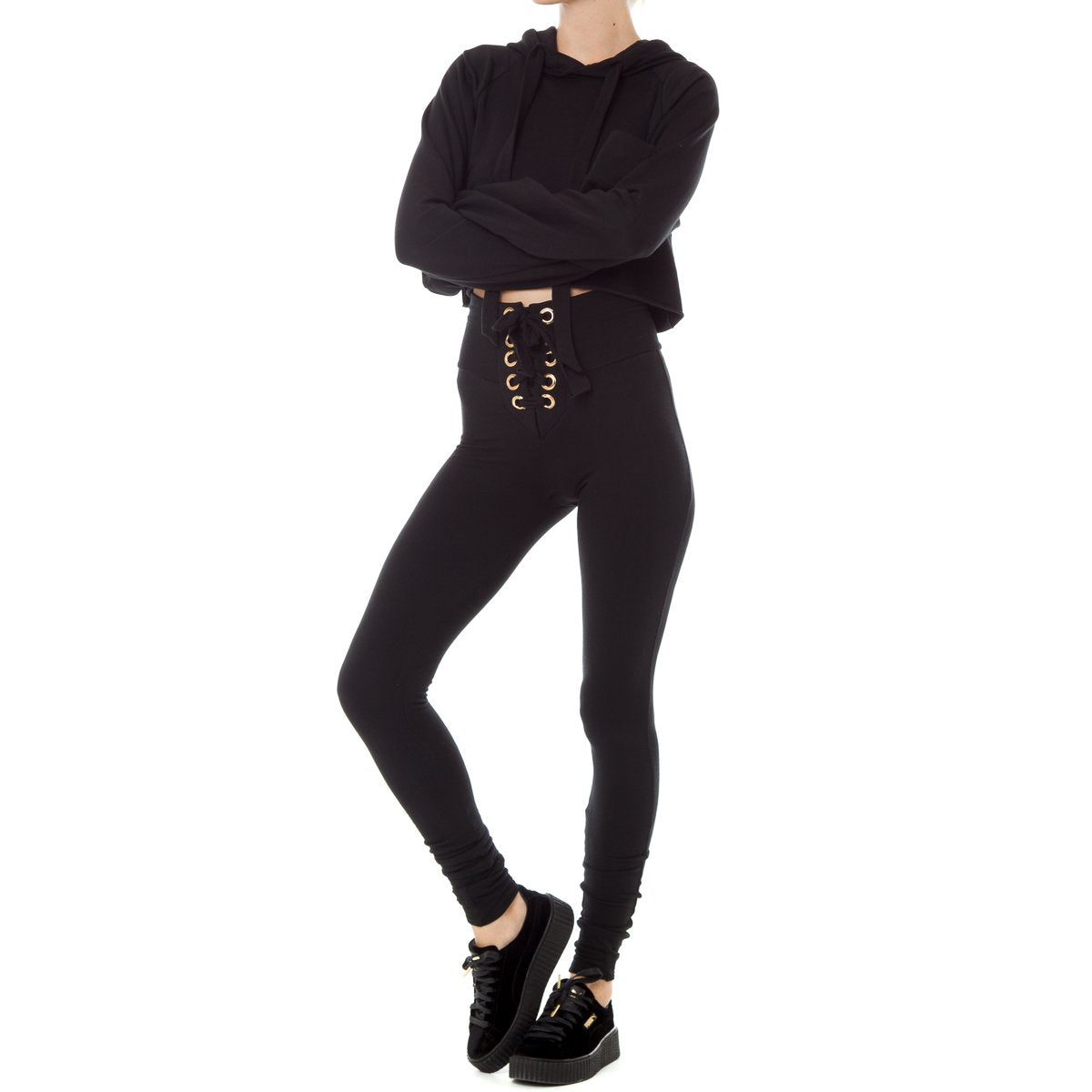 Are You Am I - Strike Legging **black
