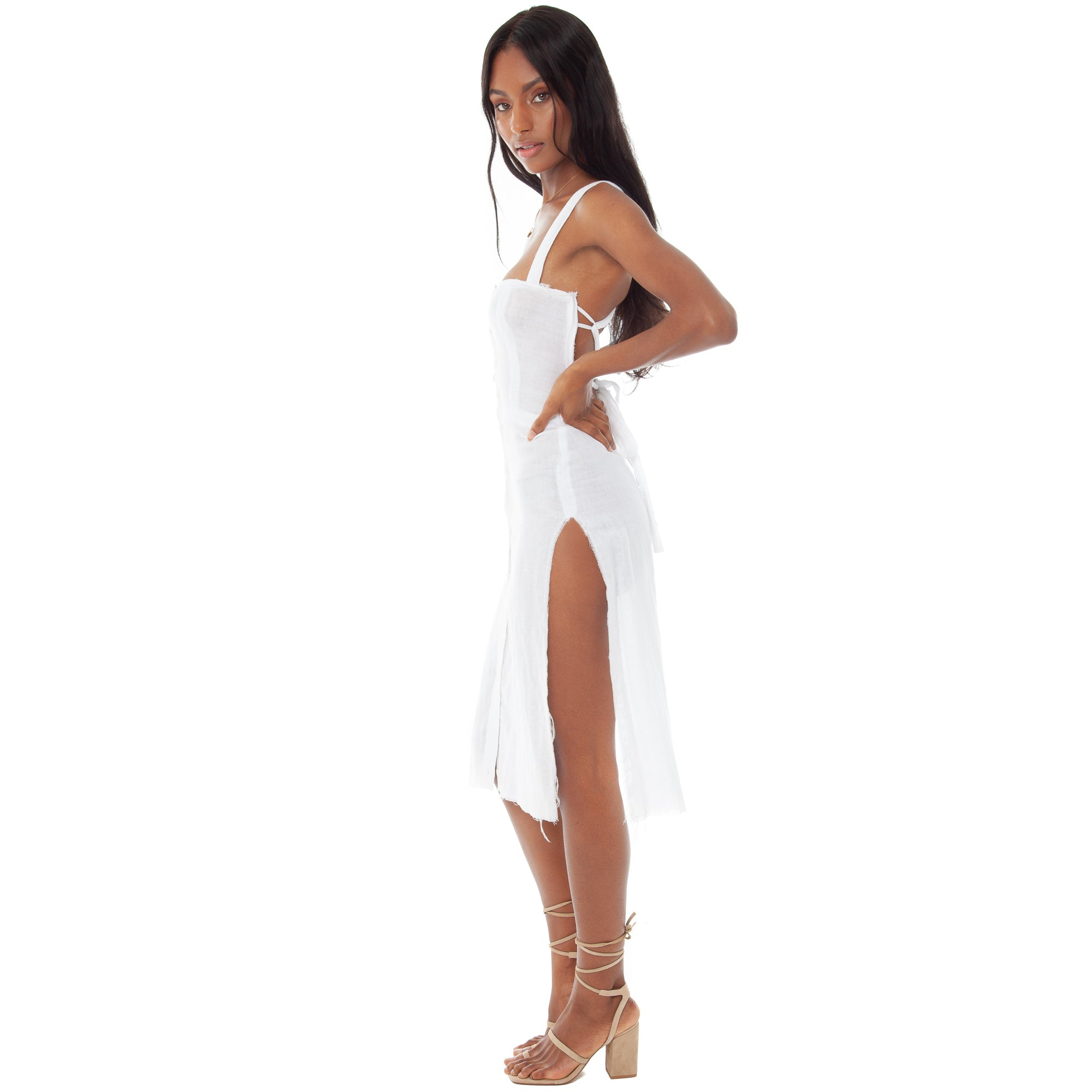 Are You Am I - Esta Gauze Dress