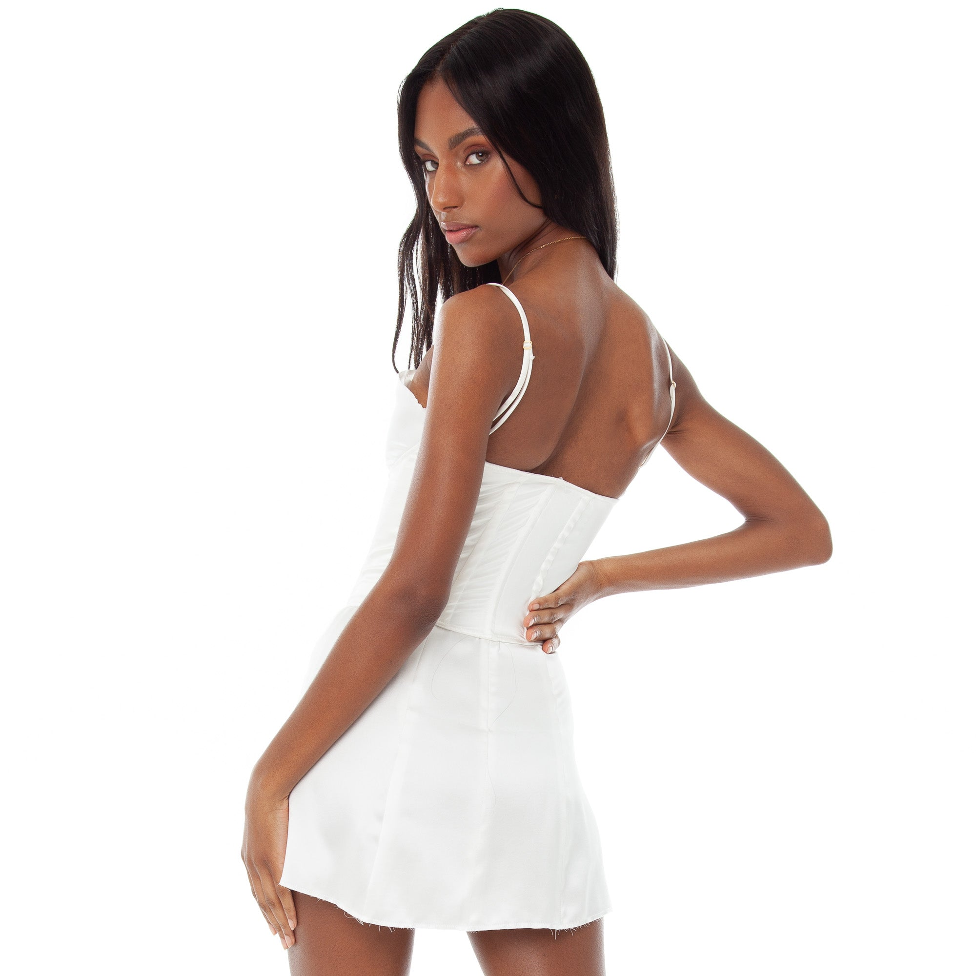 Are You Am I - Faira Corset **white