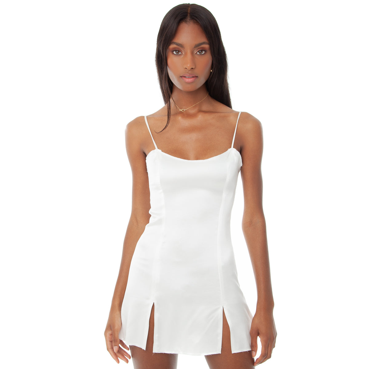 Are You Am I - Faira Dress **white