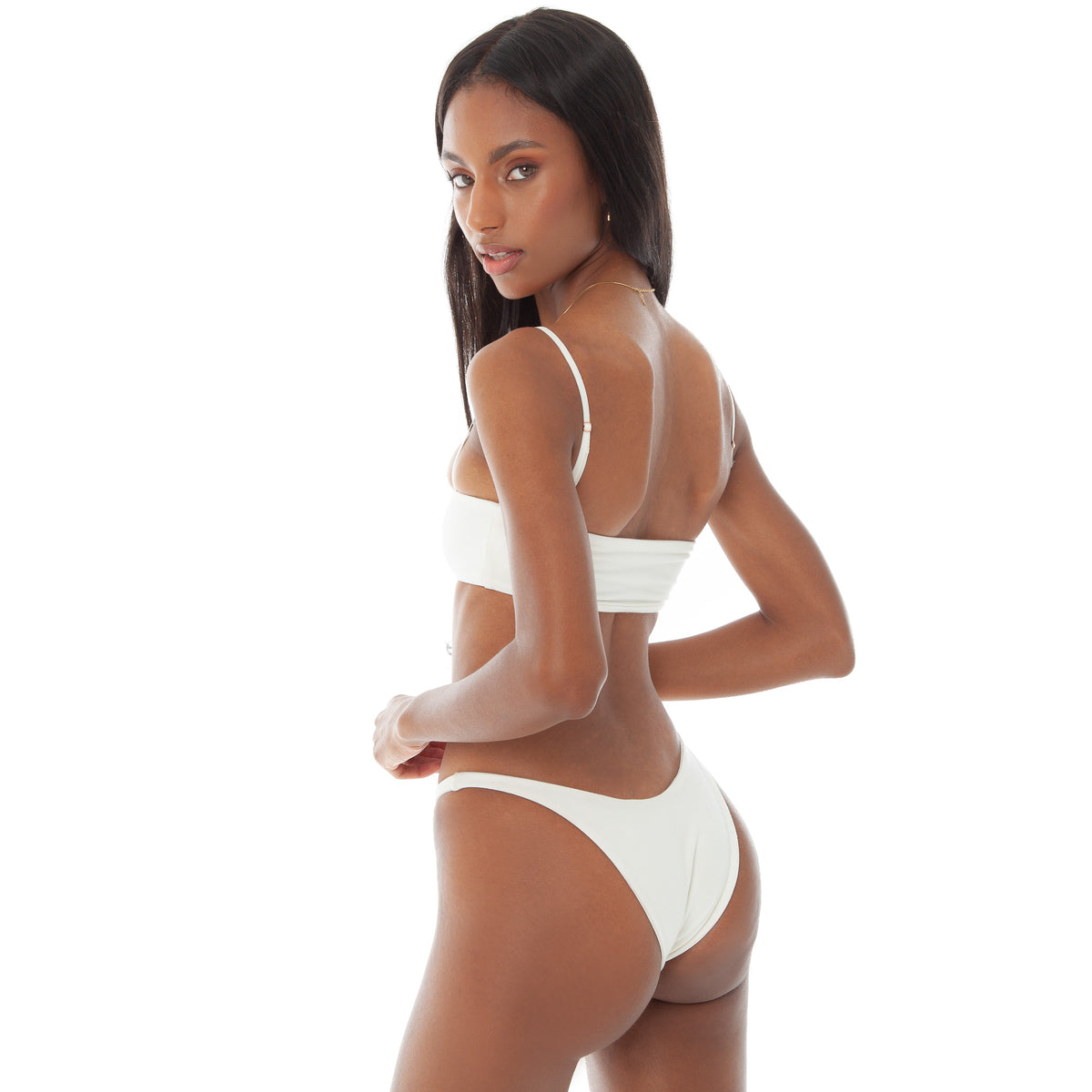 Are You Am I - Leif Bikini **white