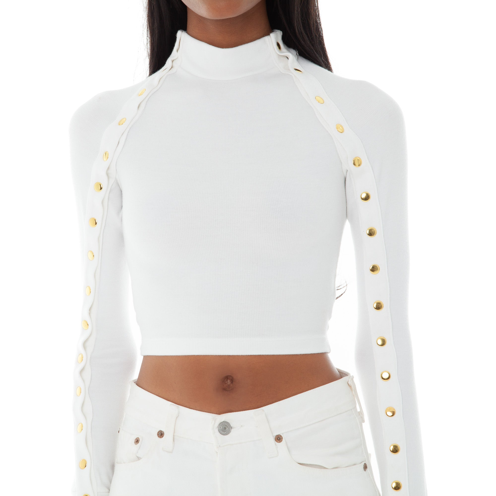 Are You Am I - Selya Top **white