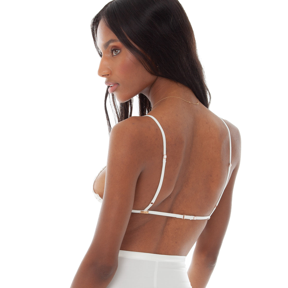 Are You Am I - Sylph Lace Bra **white