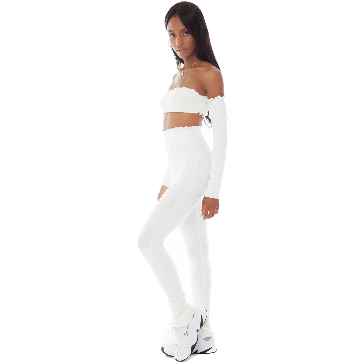 Are You Am I - Tiiu Legging **white