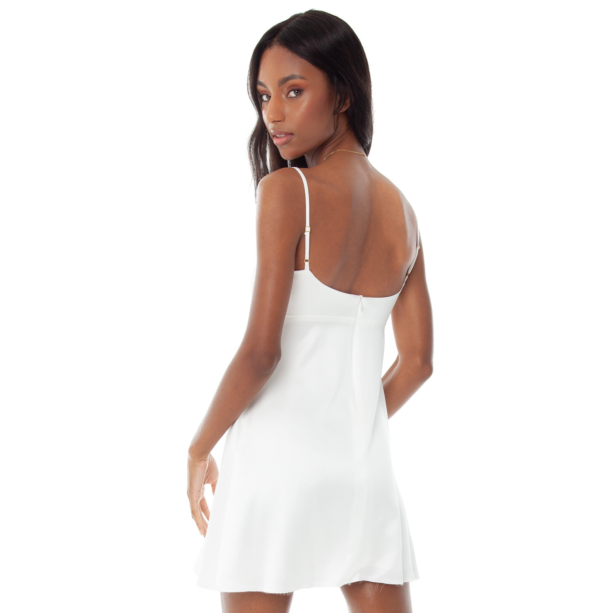 Are You Am I - Zisa Dress **white