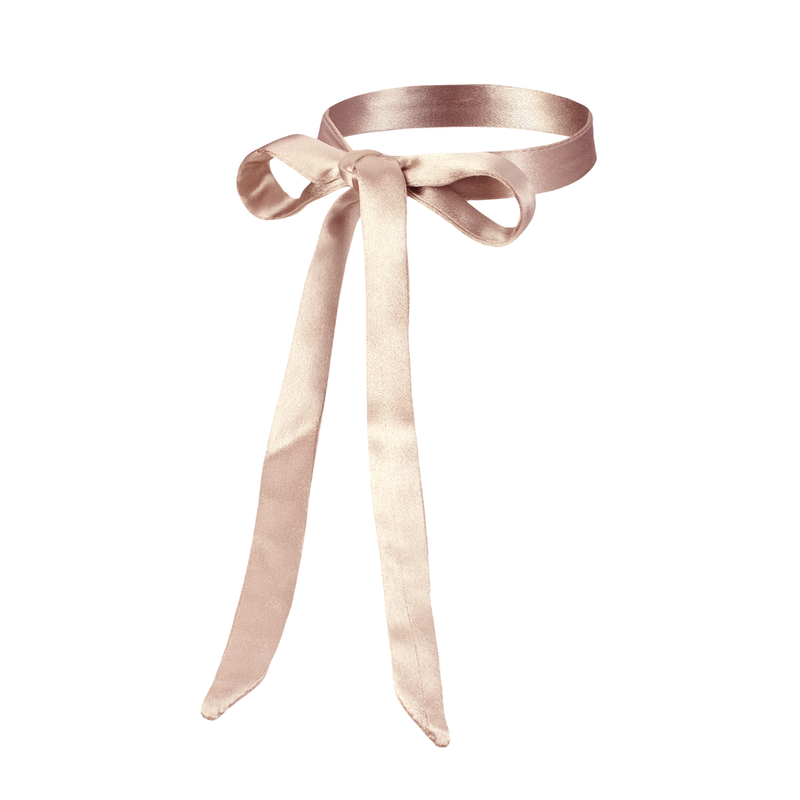 Are You Am I - Nida Tie Choker **fawn