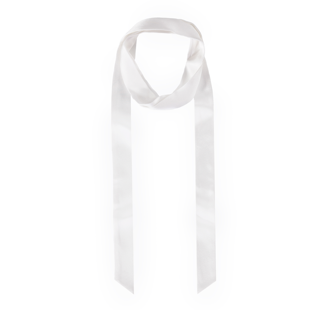 Are You Am I - Isolde Scarf **white