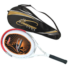 Load image into Gallery viewer, Crossway 720 High Quality Carbon Fiber Tennis Racket Racquets Equipped with Bag Tennis Grip Size 4 1/4