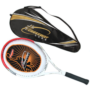 Crossway 720 High Quality Carbon Fiber Tennis Racket Racquets Equipped with Bag Tennis Grip Size 4 1/4