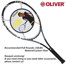 Load image into Gallery viewer, Oliver Power BOOST 97 Tennis Rackets with Carbon Fiber  Professional and original Racquet for men and women with string