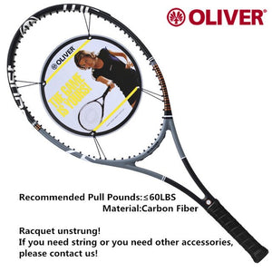 Oliver Power BOOST 97 Tennis Rackets with Carbon Fiber  Professional and original Racquet for men and women with string
