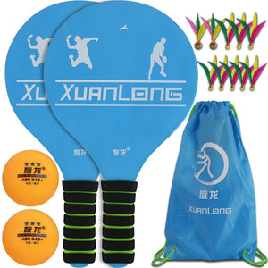 Cricket Shoot Tennis Fun  Pickleball Paddles Home Entertainment Fitness Set