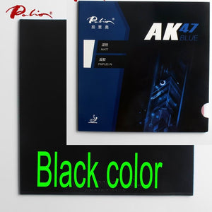 Palio official 40+ blue Ak47 table tennis rubber blue sponge for loop and fast attack new style for racquet game ping pong