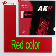 Load image into Gallery viewer, Palio official 40+ red Ak47 table tennis rubber red sponge for loop and fast attack new style for racquet game ping pong