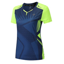 Load image into Gallery viewer, New Badminton shirt Sportswear Tennis shirt Women/Men,sports Table tennis  Shirts,tennis clothes,,Qucik dry Exercise  shirt 3899