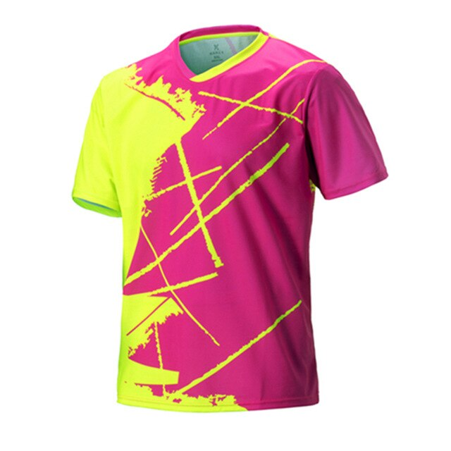 Men short sleeve tennis shirts badminton shirt male running t-shirt golf table tennis uniforms jersey sport clothing sportswear