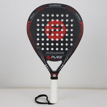 Load image into Gallery viewer, Carbon Fiber Padel Tennis Racket Racquet With Cover Bag