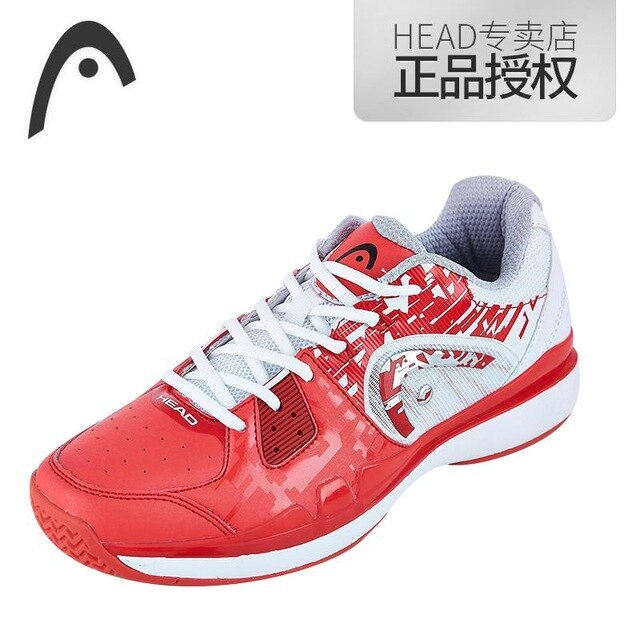HEAD Light Breathable Tennis Shoes for Men Women Lace-up Sport Shoes Training Athletic Shoe Anti-Slippery Tennis Sneakers