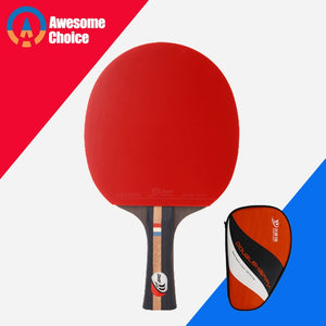 4 Stars Finished Table Tennis Racket Pimples in for Both Rubber Fast Attack With Loop Ping Pong Game Racquet Game
