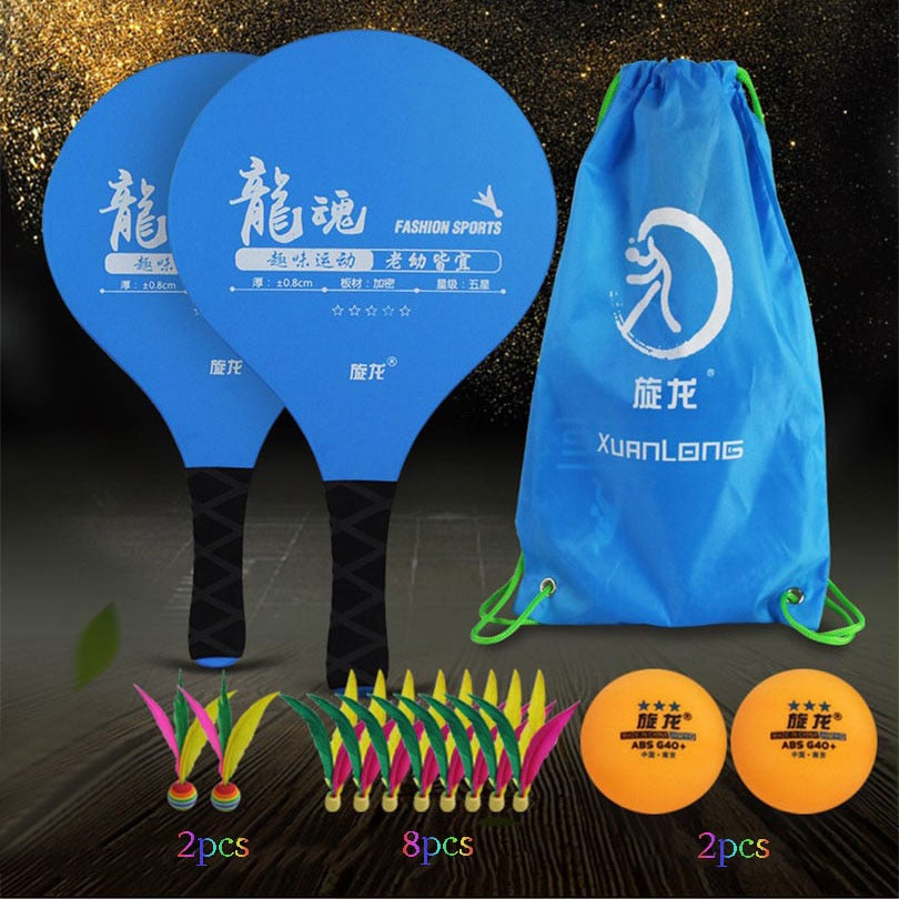 Cricket Bat Set Family Pickleball Paddle Entertainment Set with Cricket Bat and Ball