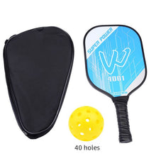 Load image into Gallery viewer, Carbon Fiber Pickleball Paddle Graphite Face Polymer Honeycomb Core Pickleball Racket Ultra Cushion Grip Low Profile Edge Guard