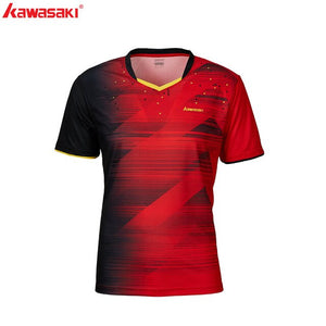Original Kawasaki Tennis Shirt Badminton T-Shirt Men Quick Dry Short-Sleeve Training T-Shirts For Male Sportswear 2020