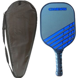 CAMEWIN Pickleball Paddle Tennis Racket Fiberglass Beat Racquet Honeycomb Beat With Racket Carry Bag Single Group Outdoor Sports