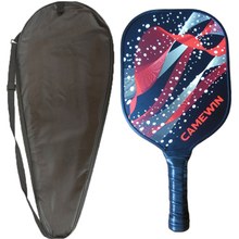 Load image into Gallery viewer, CAMEWIN Pickleball Paddle Tennis Racket Fiberglass Beat Racquet Honeycomb Beat With Racket Carry Bag Single Group Outdoor Sports