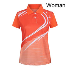 Load image into Gallery viewer, Free custom Badminton shirt Men/Women , Table Tennis shirts ,  sports badminton t-shirt,Tennis wear dry-cool shirt 5059