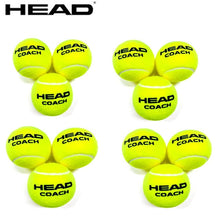Load image into Gallery viewer, 3/6/12 PCS Original HEAD Tennis Ball Tennis Training Balls Tenis Ball Tennis Coach Balls Trainer Pelotas Tennisballs Wool Rubber