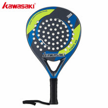 Load image into Gallery viewer, Kawasaki POWER 600 Padel Racquet 38mm Tennis Padell Racket for Junior Player Carbon Fiber Frame Soft EVA Face with Paddle Bag