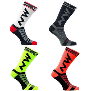 Unisex Sports Socks Riding Cycling Basketball Running Sport Sock Summer Hiking Tennis Ski Man Women Bike Bicycle Slip #ND