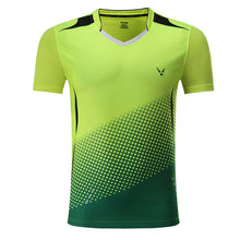 Load image into Gallery viewer, New Quick dry Badminton, sports  t shirt , Tennis shirts ,Tennis t shirt Male/Female ,,Table Tennis t shirt  3860AB